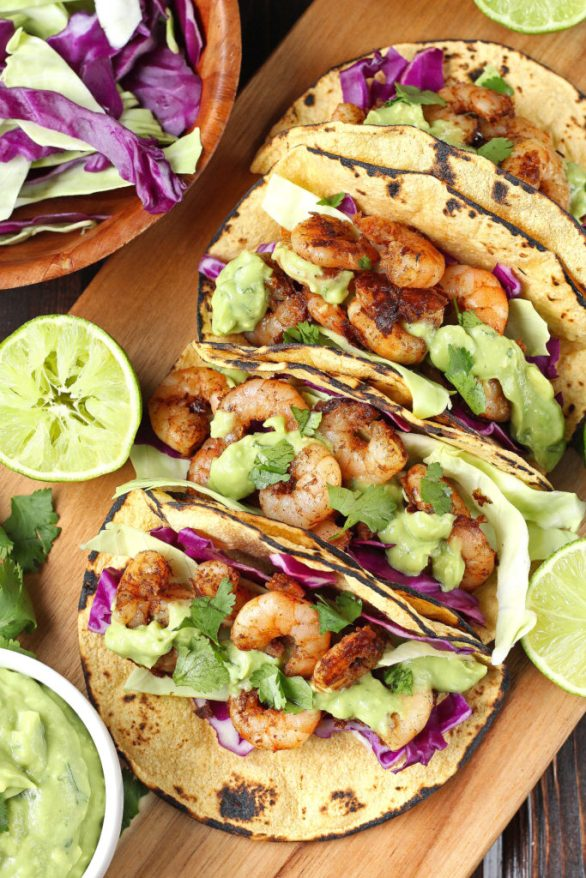 http://katalysthealthblog.com/chili-lime-shrimp-tacos-with-cilantro-avocado-sauce/