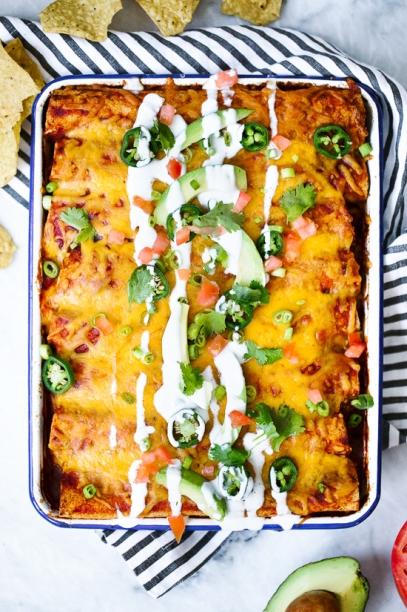 https://www.skinnytaste.com/chicken-enchiladas/